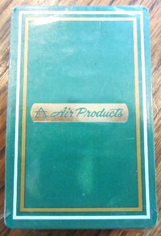 Delta Air Products Green New Sealed Playing Deck Of Cards Set