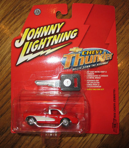 Johnny Lightning Chevy Thunder Chevy Corvette Mib New