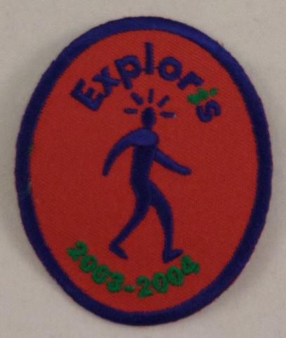 Girl Scout Patch Lexploris Explorer 2003-04 Uniform Patch Gs #Gspp