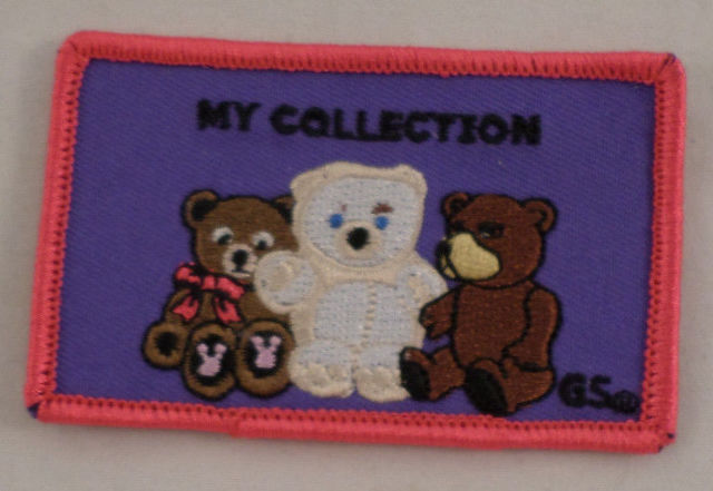 Girl Scout Patch My Collection Teddy Bears Gs #Gspk