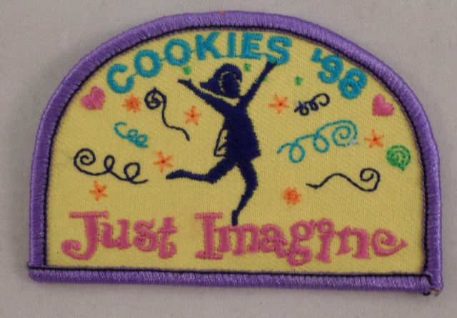 Girl Scout Patch Cookies 98 1998 Just Imagine #Gspp