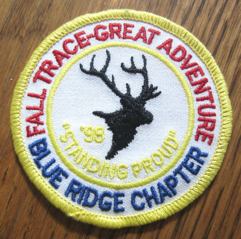 Royal Rangers Rr Uniform Patch Fall Trace-Great Adventurer Blue Ridge  Chapter 98