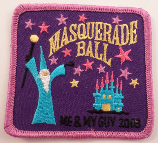 Girl Scouts Gs Vintage Uniform Patch  #Gspk Masquerade Ball Me And My Guy 2003