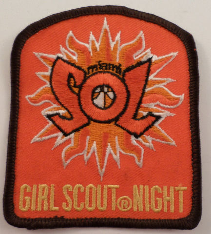 Girl Scouts Gs Vintage Uniform Patch  #Gsbr Maimi Sol Gir Scout Night