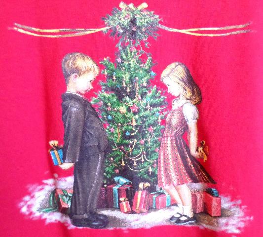Women'S Nwt Sz L Westbound Dillards Red Christmas Long Sleeve Shirt
