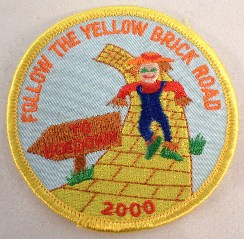 Vintage Girl Scout Follow The Yellow Brick Road To Hoedown 2000  #Gs-Yw
