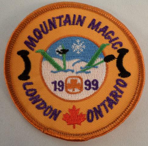 Vintage Girl Scout Mountain Magic 1999 London Ontario  #Gs-Or