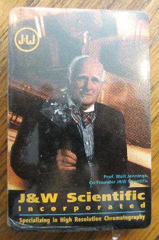 Jw Scientific Incorporated Chromatography Playing Cards New Sealed Deck