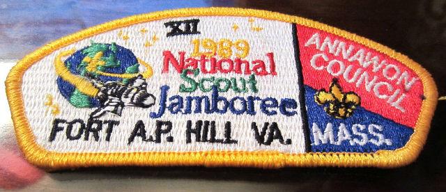 Bsa Boy Scout Uniform Pocket Flap Patch National Jamboree Fort A.P. Hill Va