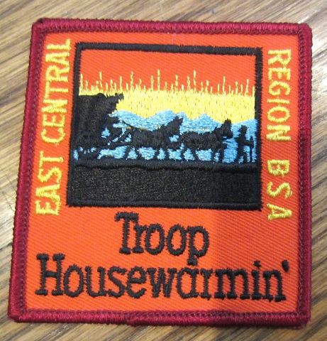 Bsa Boy Scout Uniform Patch Bsa East Central Region Bsa Troop Housewarmin'