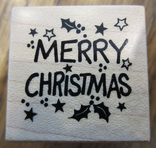 psx merry christmas words writing b 924 wooden rubber stamp ebay ebay