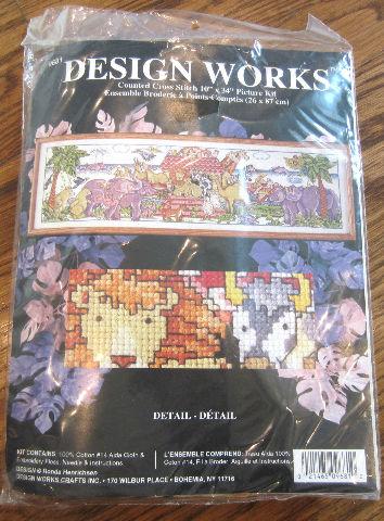 Cross Stitch Kit ~ Design Works All Aboard Noah'S Ark Animals On Boat #Dw9681