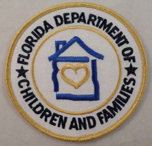 Florida Department Of Children And Families Uniform Patch #Mtyl