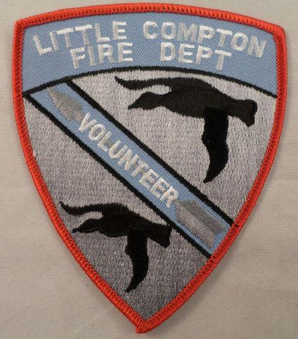 Little Compton Fire Department Volunteer Uniform Patch #Mtrd