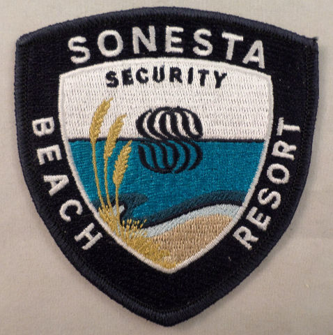 Sonesta Security Beach Resort Uniform Patch #Mtbl