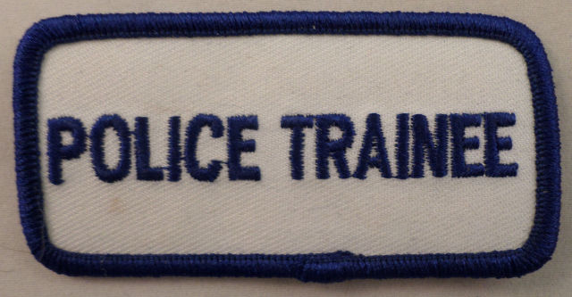 Police Trainee Uniform Patch #Mtbl