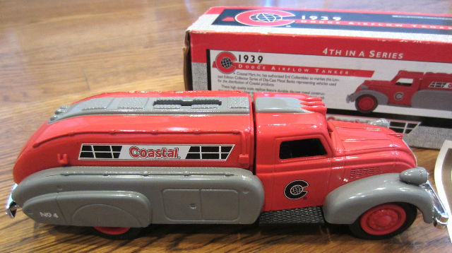 1939 Dodge Airflow Tanker Truck Replica & Bank, Coastal--Nib