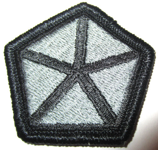 Us Army Subdued Pentagon Star Military Uniform Patch