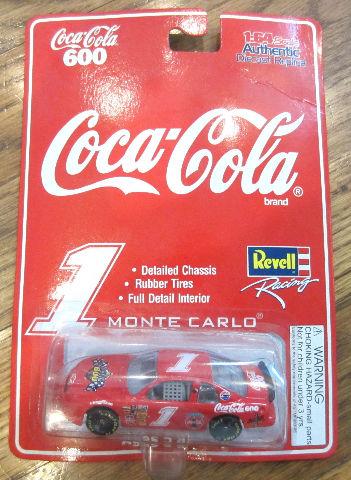 1997 Revell Coca-Cola Monte Carlo Die Cast Car-Nrfp 1:64Th Scale