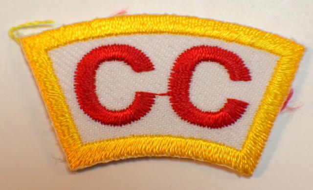Bsa Boy Scout Uniform Patch CC Rocker Bar