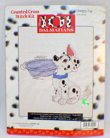 Disney Hungry Pup 101 Dalmations Counted Cross Stitch Kit #31004