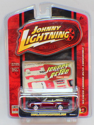 Johnny Lightning 1:64 New In Package Limited Edition Release 1 1969 Chevy Camaro