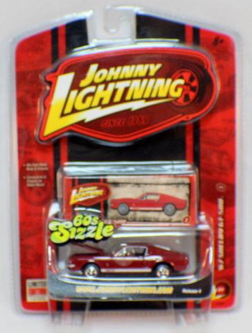 Johnny Lightning 1:64 60's Sizzle 1967 Shelby GT-500