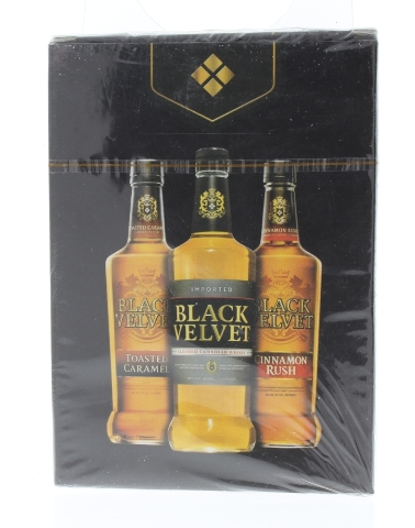 Black Velvet Adult Beverage Alcoholic Drink Sealed Package Deck of Playing Cards