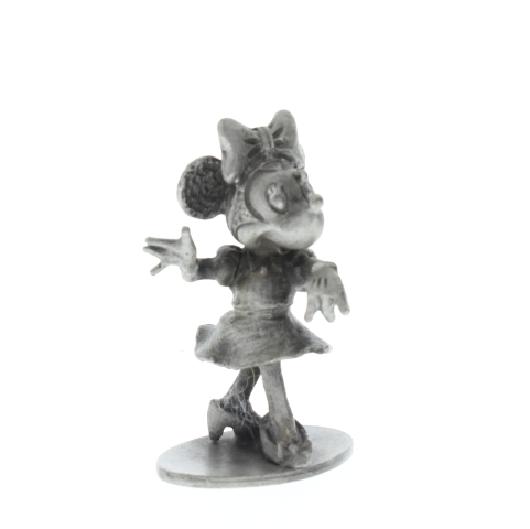Hudson Pewter Minnie Mouse Walt Disney Figurine #655