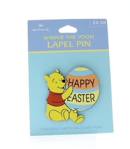 Hallmark Easter Hat Lapel Pin Happy Easter Winnie the Pooh Disney