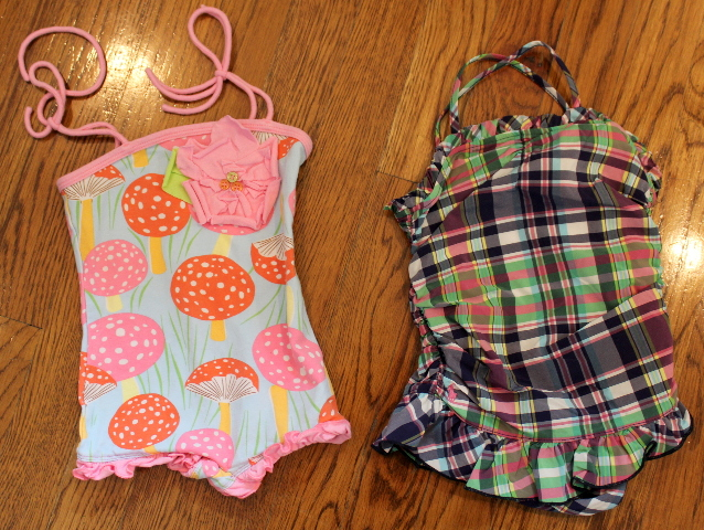e72f2d61dad6b Baby Girl Lot 2 Swimsuits Sz 18 Mo Plaid Ralph Lauren Baby Lulu | Dragonfly  Whispers