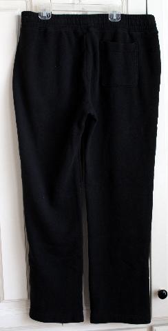 Mens Teens Hollister Sz M Sweat Pants Black