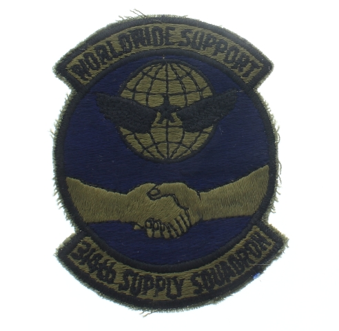 Worldwide Support 314th Supply Squadron Uniform Patch - United States Air Force  USAF