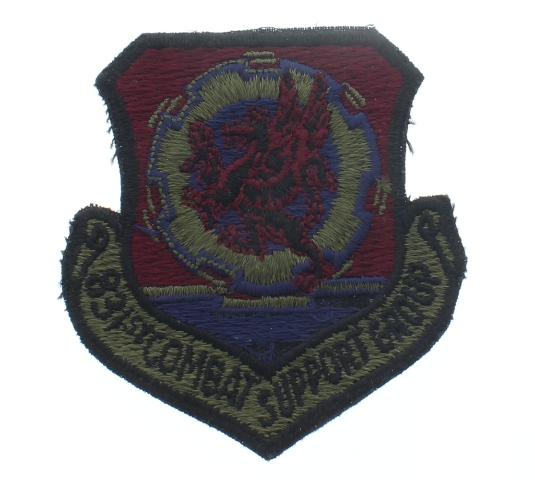 831st Combat Support Group Uniform Patch - United States Air Force  USAF