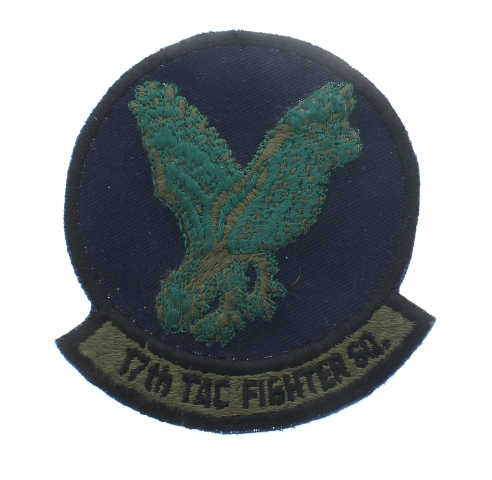 17th Tac Fighter Squadron United States Air Force  USAF