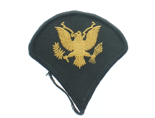 Green and Gold Eagle Uniform Patch United States Air Force  USAF