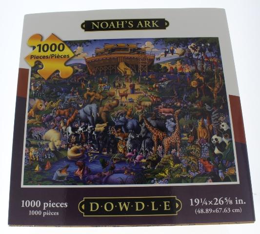 Noah's Ark Folk Art Dowdle 1000 PC Piece Puzzle
