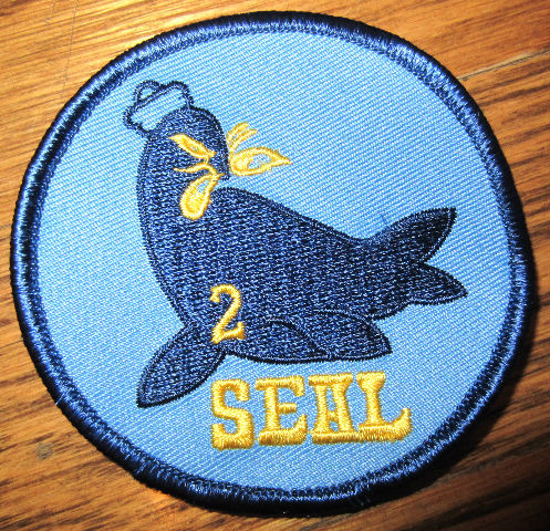 Us Military Uniform Patch Seal Team 2 Blue And Yellow