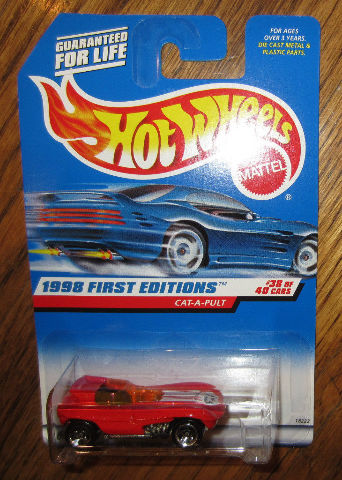 1998 Hot Wheels First Edition #38 Of 40 Cat-A-Pult #681