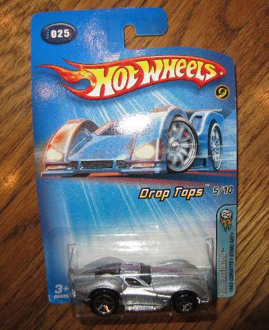 Hot Wheels 025 Corvette Sting Ray Drop Tops 5/10 2005