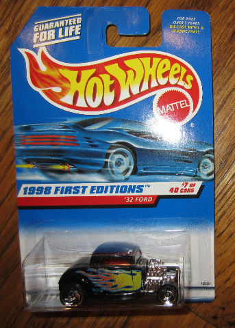 Hot Wheels - '32 Ford - 1998 First Editions #7 Moc New