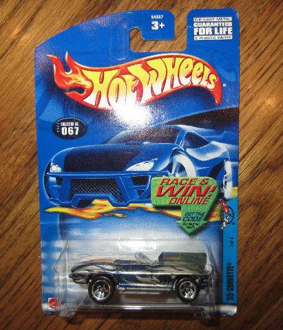 Hot Wheels '65 Corvette #067 Mattel 1 Of 4 New Mib
