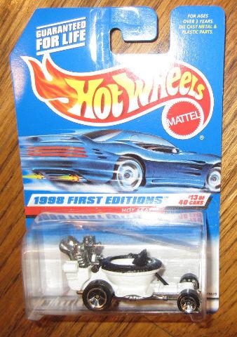 Hot Wheels Mattel Hot Seat #13 Of 40 Moc 1998 1St Edit.