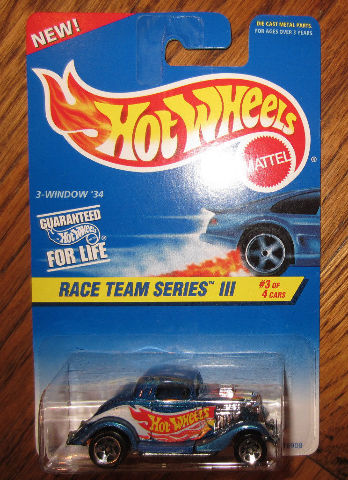 1997 Hw #535 Race Team Series Iii 3-Window '34 New Moc