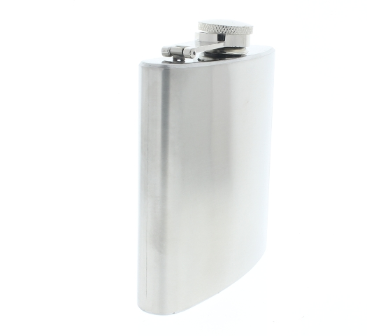 csa stainless steel 6 oz hip flask pewter great for gifts and