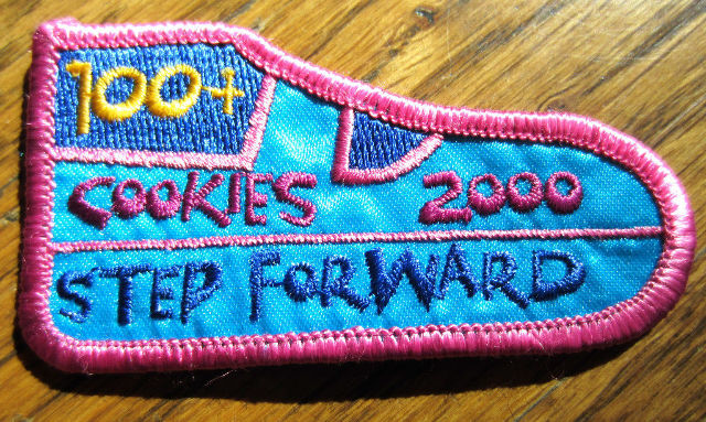 Girl Scout Cookie Step Forward Booth Sales 2000