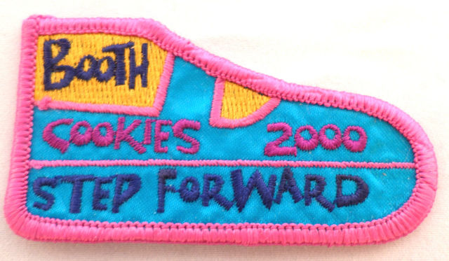 Girl Scout Gs Uniform Patch Cookie Booth Helper Step Forward #Gsbpk
