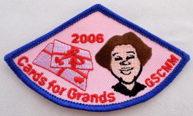 Girl Scout Gs Uniform Patch Cards For Grands Gscmm 2006 #Gsbl