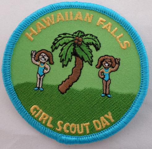 Girl Scout Gs Uniform Patch Backyard Adventure Back Yard #Gsbl