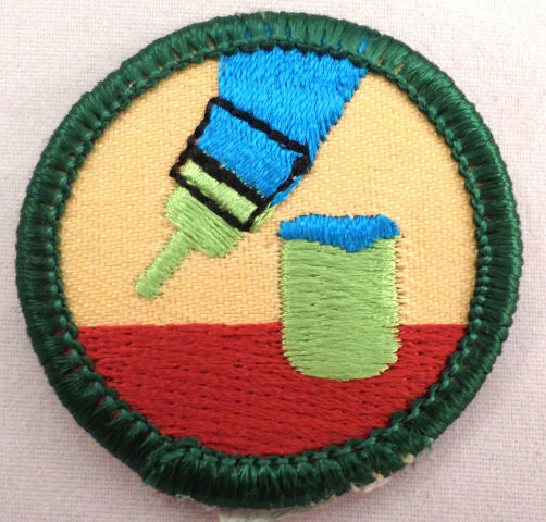 Girl Scout Retired Junior Patch Do It Yourself Gs Uniform Patch